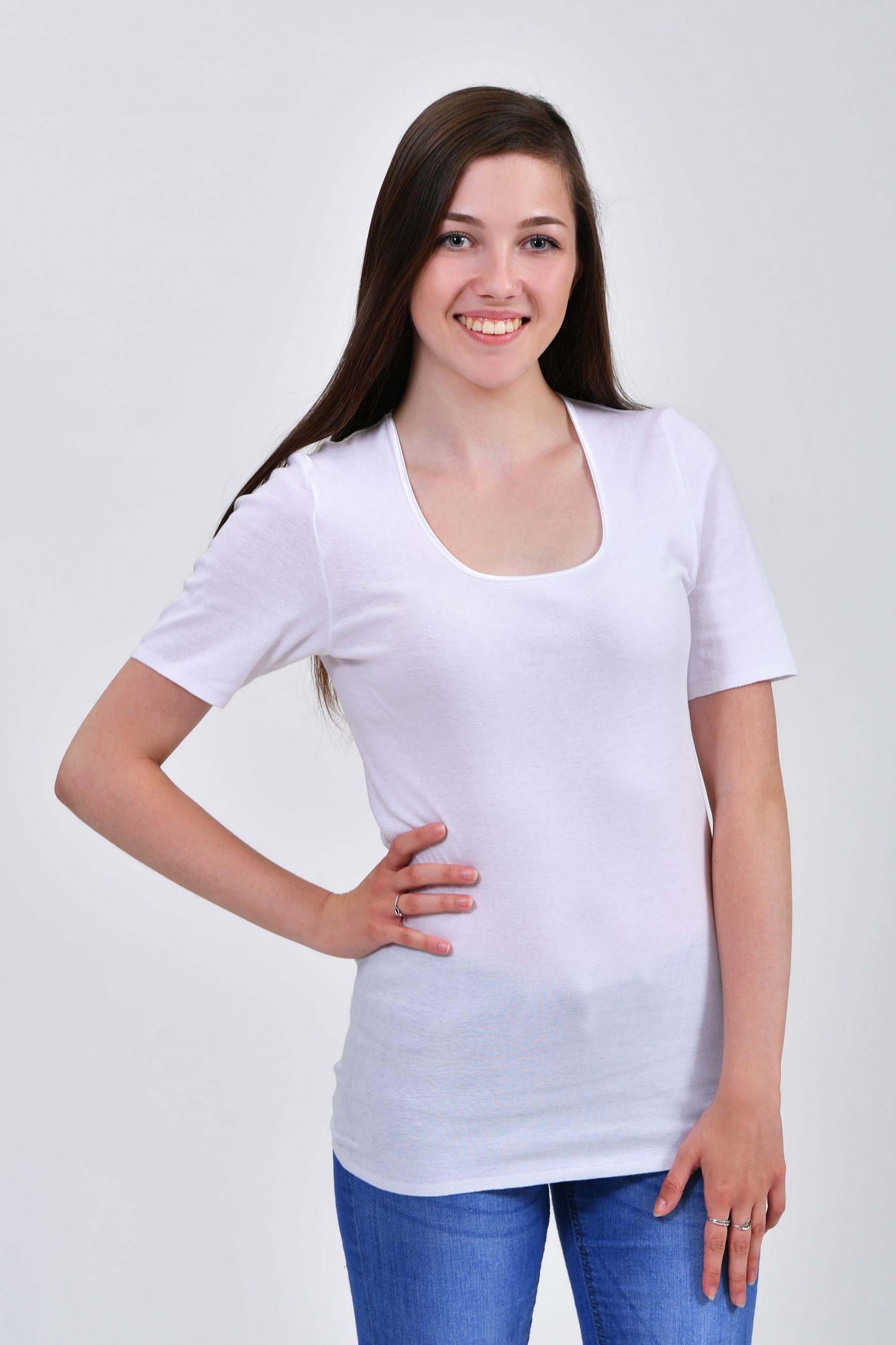 63717fe38 Dámske bezšvíkové tričko s krátkym rukávom Body Feeling - 163911 ...