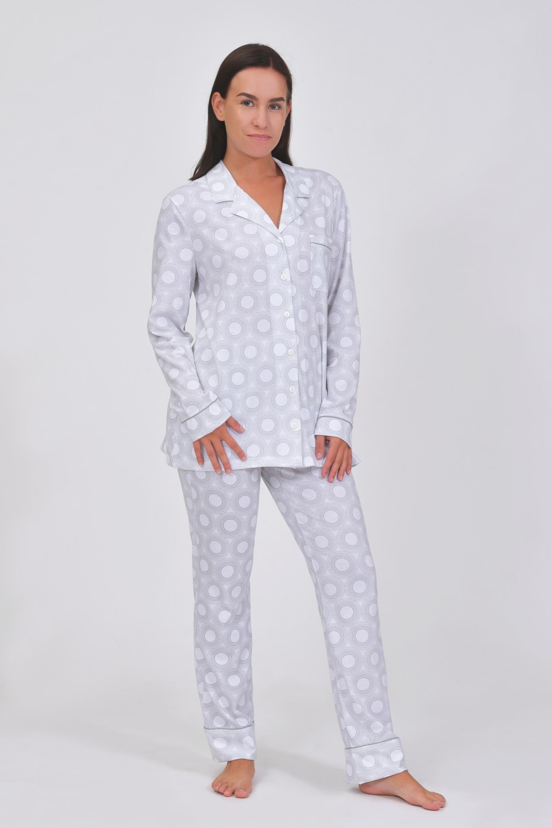 a55a9b568 Dámske pyžamo dlhé - 164514 - € 50,42 - Skladem - Pleas a.s